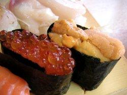 高級黒毛和牛 牛トロ寿司