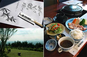 美しい景色を眺めながら舌鼓を打つお店「やまの囲炉」 熊本 阿蘇 地鶏