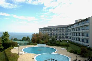 日本の夕陽百選 リゾートホテル オリビアン小豆島