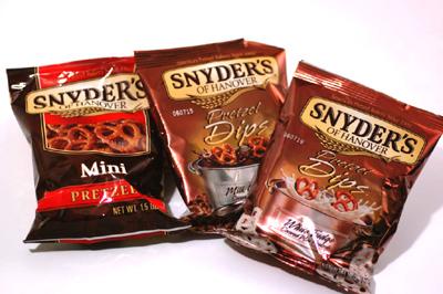 【プレッツェル チョコ・ホワイト】 スナイダーズ(SNYDER'S)ホワイトファッジ