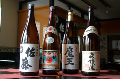 ■熊本グルメ 「居酒屋 一善」 焼酎ファンに