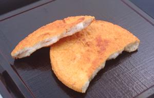 ■限定発売中!王様堂本店の炭火焼煎餅