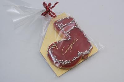 セレブ御用達!ウィーン菓子工房「リリエンベルグ」のブーツクッキー