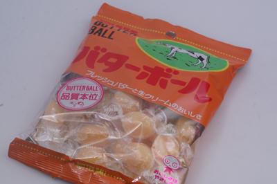 バターボール UHA味覚糖 なつかしぃっ