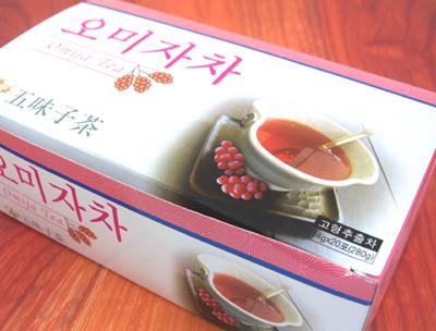 2008.9.18 目指せ!イ・ヨンエ!韓国生まれ「五味子茶」(オミジャティー)