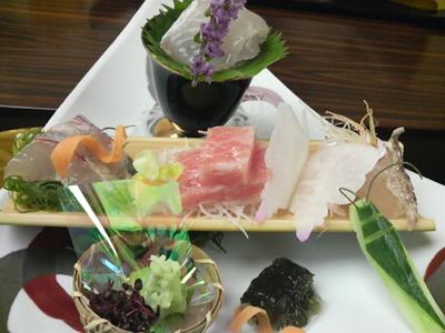 2008.10.16 熊本ホテルキャッスル「細川」にて めかじゃを食べる