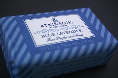2009.5.25 ATKINSONSのソープ。高貴な ブルーラベンダーの香り