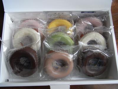 2009.7.12 青山リングリング ドーナッツ カラフルねぇ