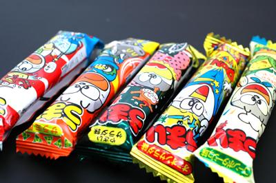 2009.9.18 駄菓子オンパレード「うまい棒」など
