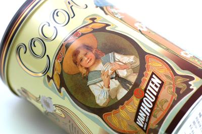 2009.9.16 これからの季節はココア!バンホーテンココアヴィンテージ缶入り