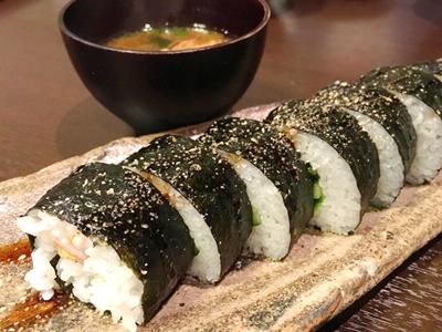赤だし、巻き寿司(卵・カニカマ・きゅうり).jpg