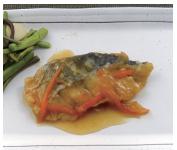 白身魚の和風揚げ煮