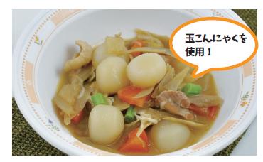 鶏肉と玉こんにゃくの味噌煮