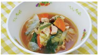 タッカルビ風スープ
