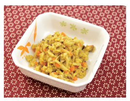 筍と高野豆腐のカレー佃煮