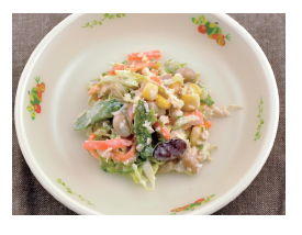 春野菜のコールスローサラダ
