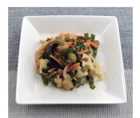 お豆とこんぶのファイバーサラダ